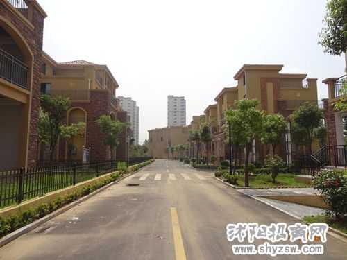 沭阳杭州名苑小区,已经交房26栋别墅区